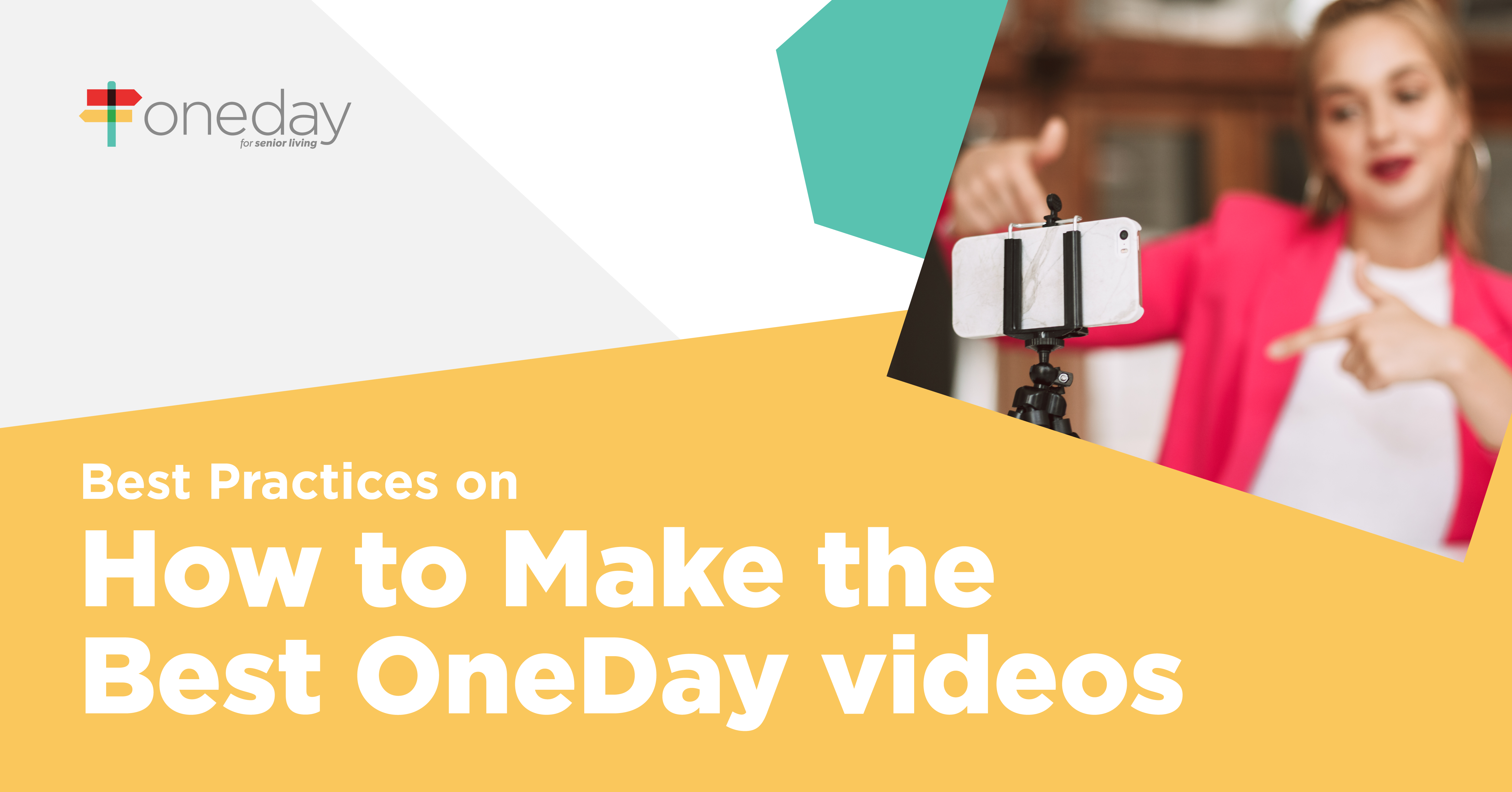 Simple best practices you can easily use in your senior living community's video sales and marketing strategy to maximize the impact of your video content.