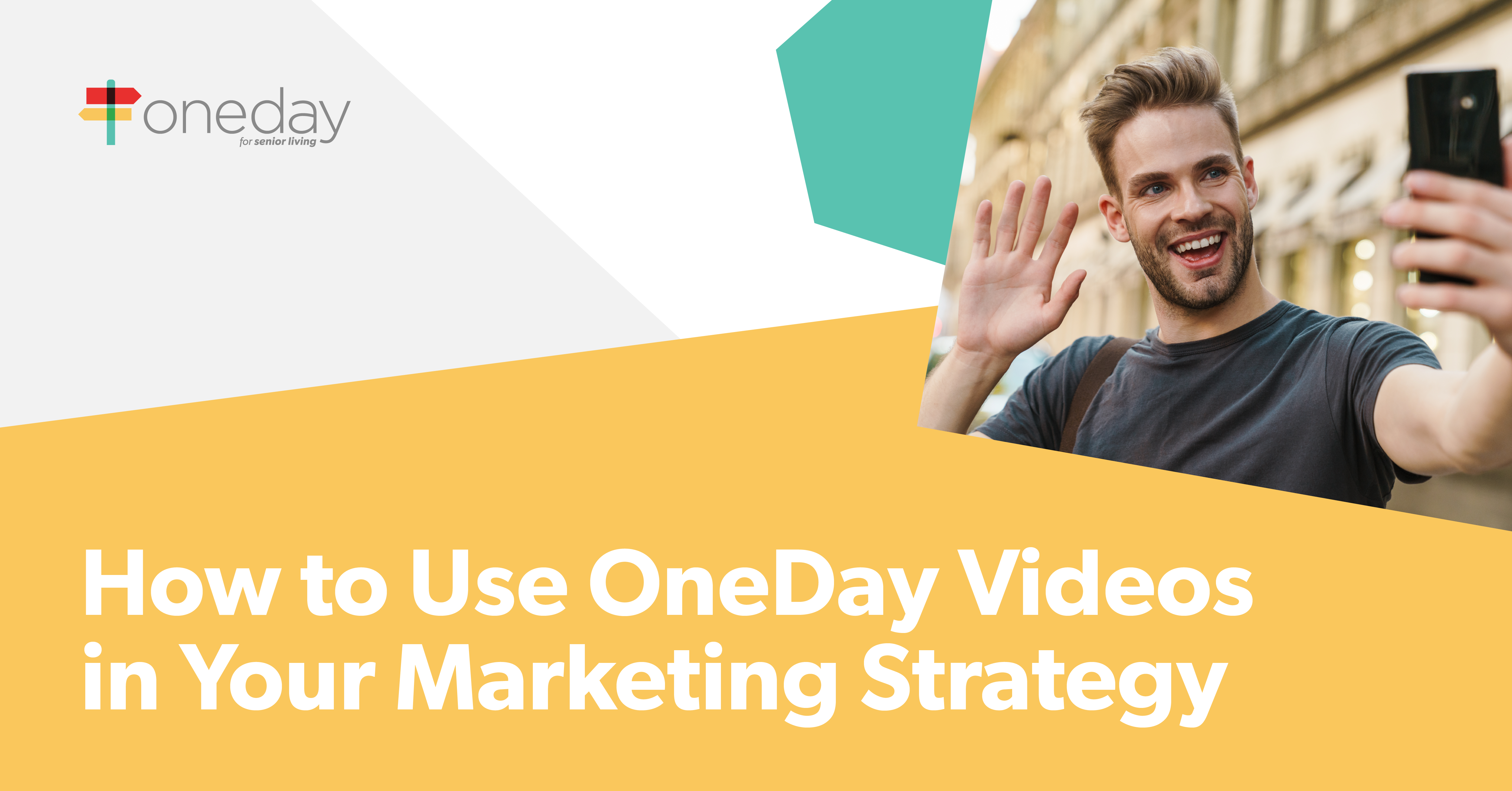 Tips from OneDay's specialists on the different ways senior living marketers can use video content in their marketing strategies to drive occupancy.