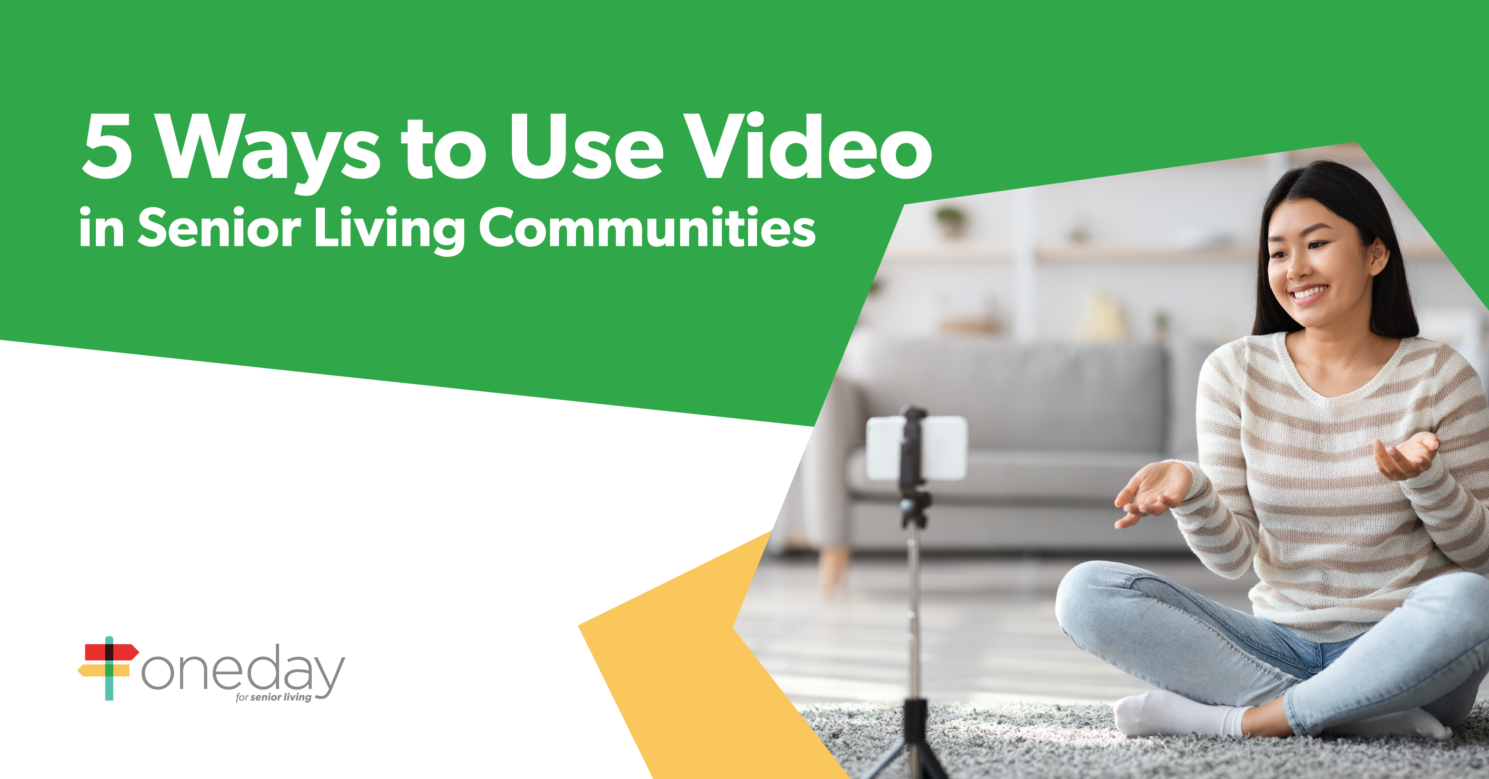 Tips and insights on different ways senior living marketing and sales teams can use video to drive occupancy and keep employees engaged.