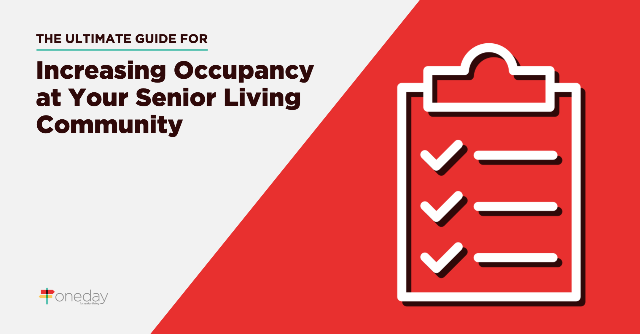 The most comprehensive guide on the internet focused exclusively on the different ways  senior living communities can drive occupancy rates to new heights.